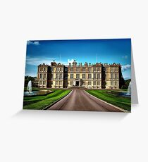 Longleat House-Wiltshire-England Greeting Card