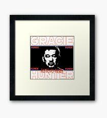 the gracie hunter Framed Print
