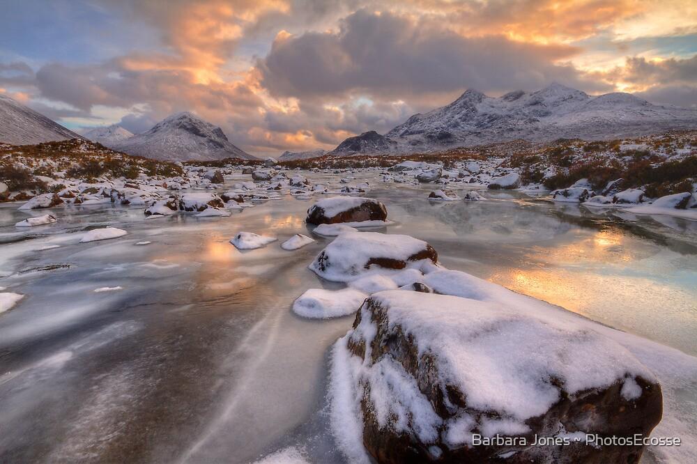 Sligachan at Christmas. Isle of Skye. Scotland. by PhotosEcosse