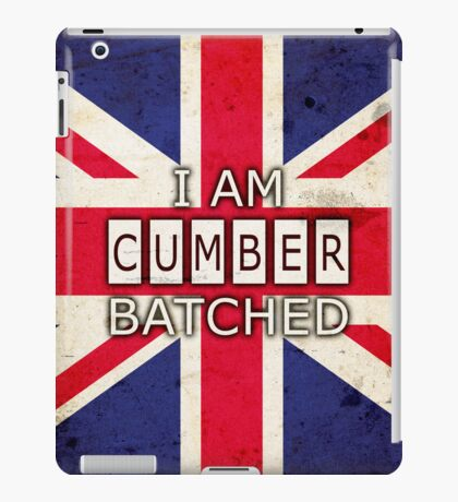 I AM CUMBERBATCHED (UK Edition) iPad Case/Skin