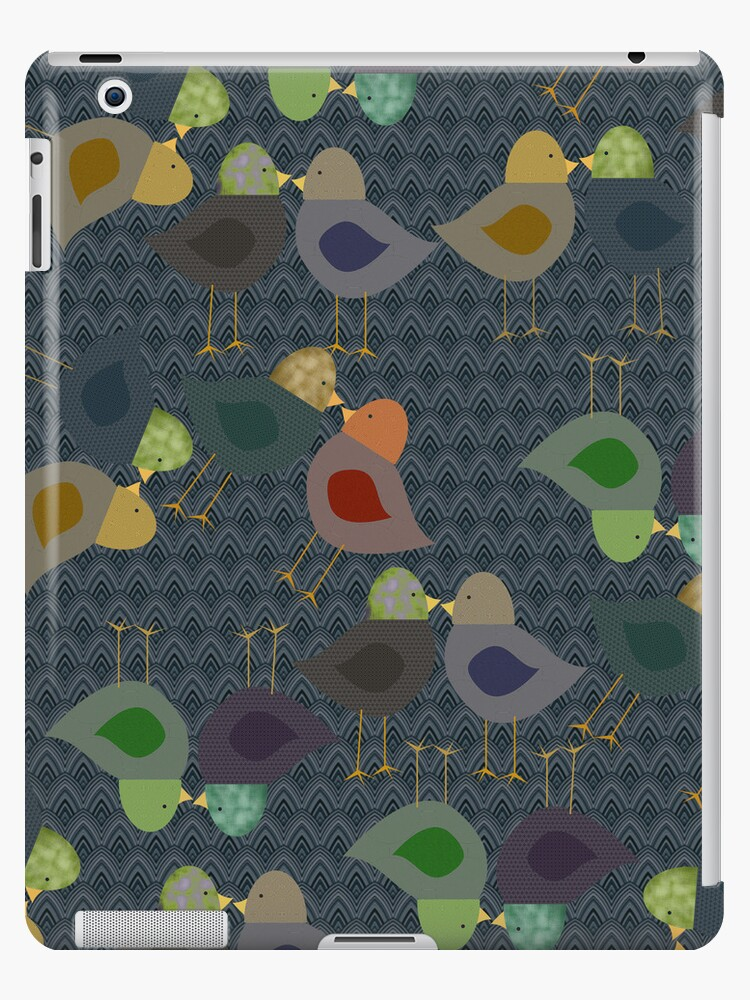 Chatter Birds iPad Case by CheriesArt