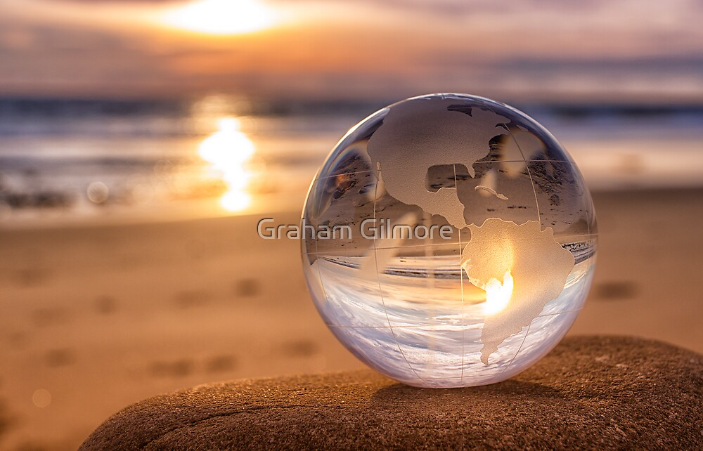 Earth at Sunset by Graham Gilmore