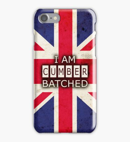 I AM CUMBERBATCHED (UK Edition) iPhone Case/Skin
