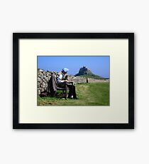 Border Minstrel Framed Print