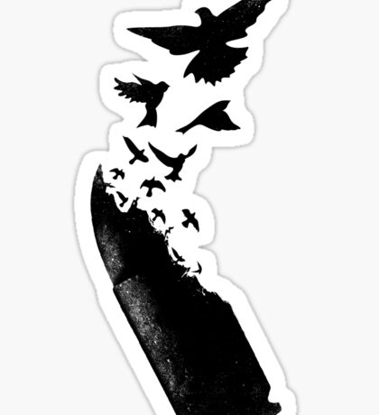 Bullet Birds Sticker