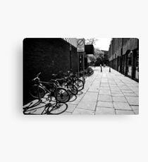 City Cycles Canvas Print