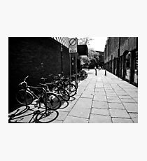 City Cycles Photographic Print