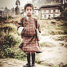 Bhutanese Boy by Wanagi Zable-Andrews