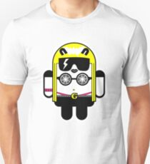 Lady Gaga goes Google Android Style!  Unisex T-Shirt