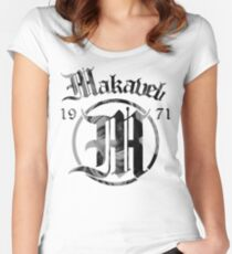 Makaveli 1971 Women's Fitted Scoop T-Shirt