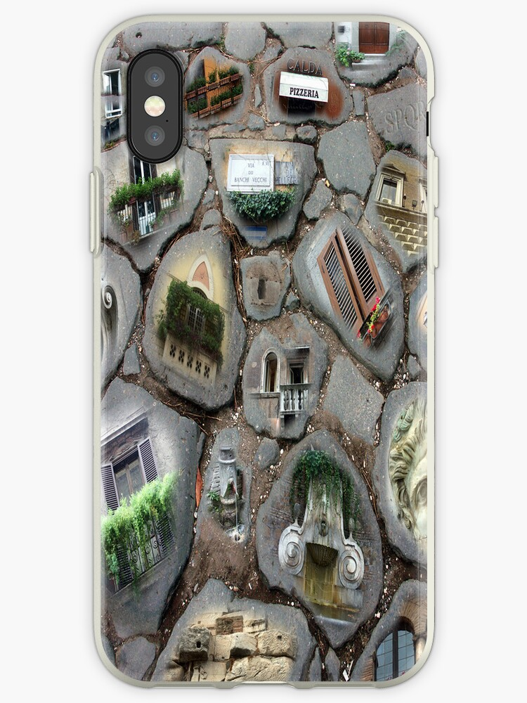 Walking on History I -iPhone case by Sandro Rossi Imagery