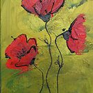 Poppies for Michy by selenasmith