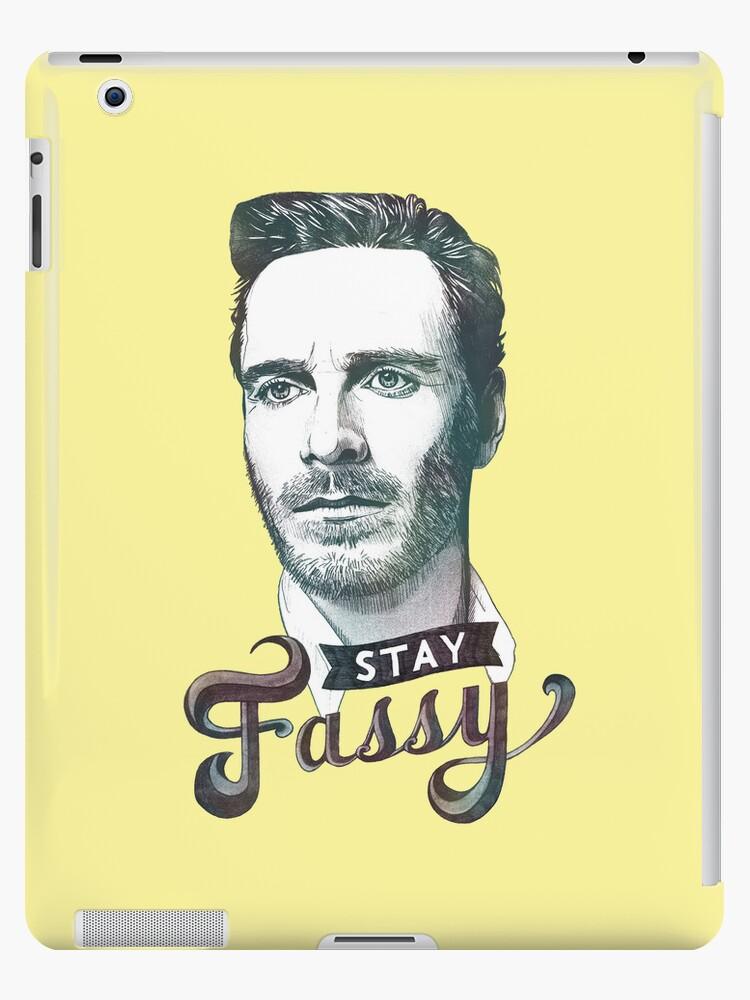 Stay Fassy (blue) by Logan Nottbohm