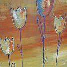 Modern Tulips by selenasmith