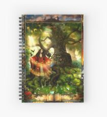 Bewitched Sorceress Spiral Notebook
