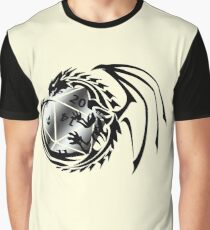 Dungeons and Dragons - Black and Silver! Graphic T-Shirt