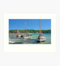 Salcombe, Devon Art Print