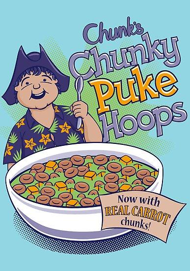 Chunk's Chunky Puke Hoops by DoodleDojo