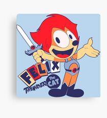 Felix the Thundercat Canvas Print