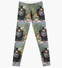 Durango & Silverton Historic Train Leggings