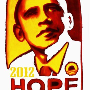 OBAMA HOPE by BAKERBOYTEEZ