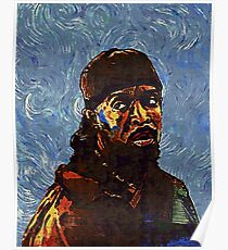 Omar Little by VanGogh - www.art-customized.com Poster