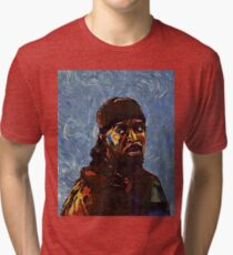 Omar Little by VanGogh - www.art-customized.com Tri-blend T-Shirt