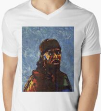 Omar Little by VanGogh - www.art-customized.com Men's V-Neck T-Shirt