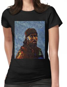 Omar Little by VanGogh - www.art-customized.com Womens Fitted T-Shirt