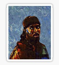 Omar Little by VanGogh - www.art-customized.com Sticker