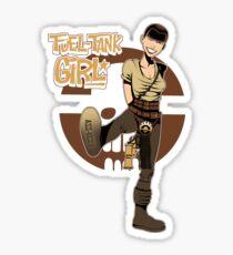 Fuel Tank Girl Sticker
