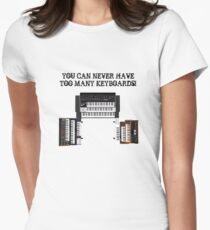 Too Many Keyboards! Women's Fitted T-Shirt