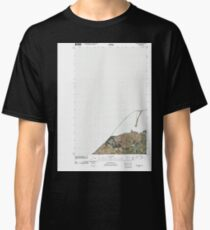 USGS Topo Map Washington State WA Dungeness 20110419 TM Classic T-Shirt