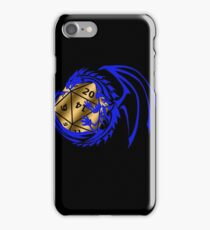Dungeons and Dragons - Blue and Gold! iPhone Case/Skin