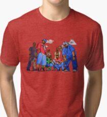 Wu-Tang Nine - www.art-customized.com Tri-blend T-Shirt
