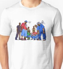 Wu-Tang Nine - www.art-customized.com Unisex T-Shirt