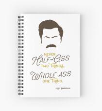 Cuaderno de espiral Pawnee's Finest