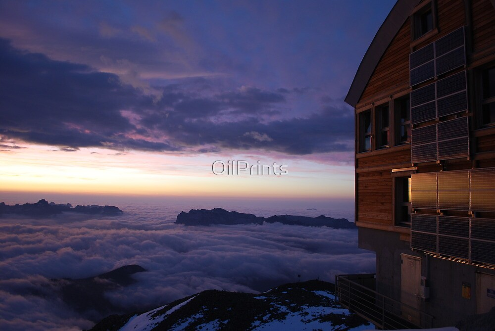 Above the Clouds by OilPrints