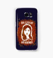 Clara Oswin Oswald (Alternate version) Samsung Galaxy Case/Skin