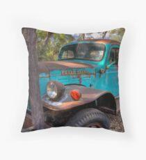 Dodge Power Wagon Throw Pillow