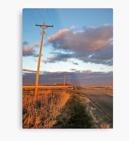 Lonesome Roads Metal Print