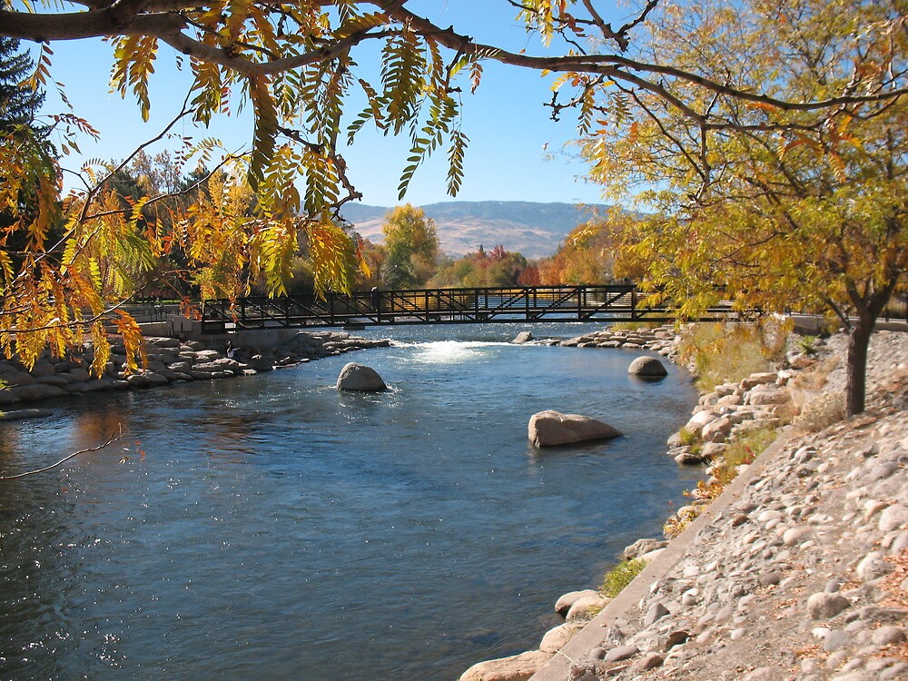 A fall day in Reno by ROB HUGHES