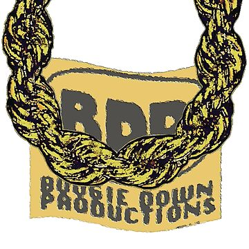 Old School Gold Rope Chain and classic logo 3 - www.art-customized.com by art-customized