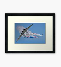 Vulcan And The Red Arrows Framed Print