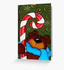 Candy Bear Greeting Card
