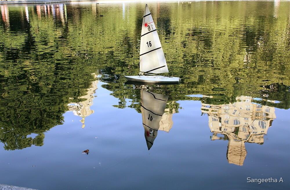 Sail Away. by Sangeetha A