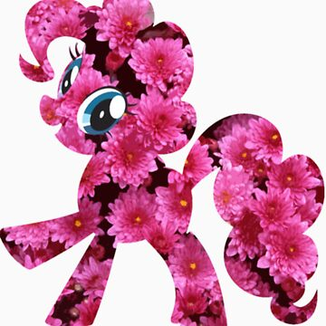 Pinkie Pie Flowers by DarthAjFox