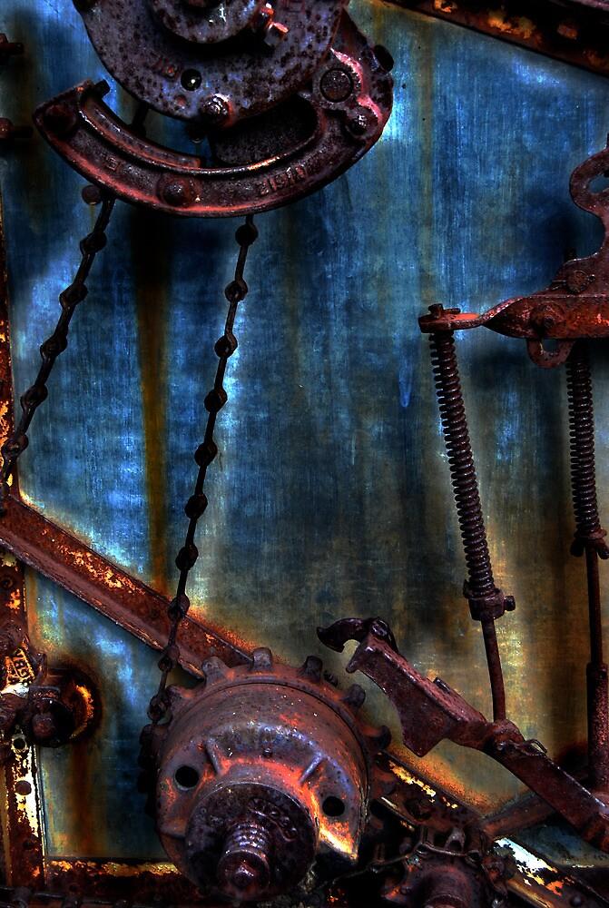 Rusty Gears  by JerryCordeiro