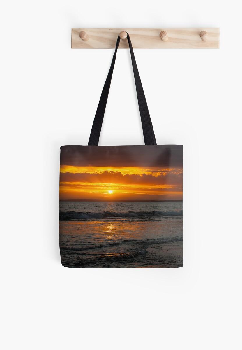 13th Beach Sunset by Danielle  Miner