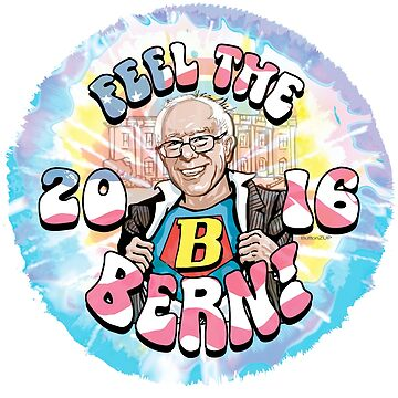 Super Bernie Feel The Bern 2016 by Election2016